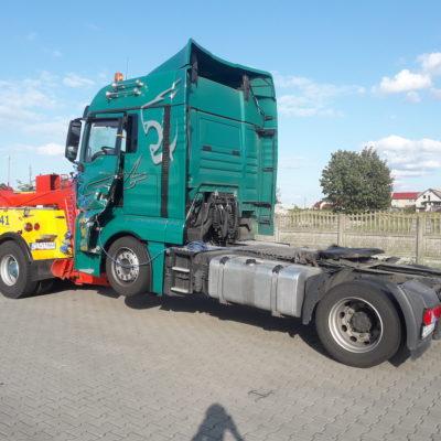 Holowanie aut ciężarowych Szczecin