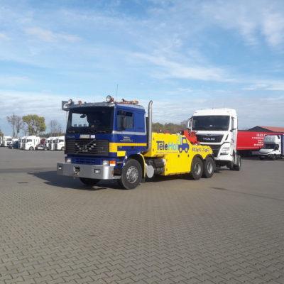 Holowanie samochodu ciężarowego