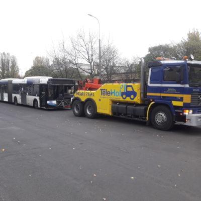 holowanie autobusów