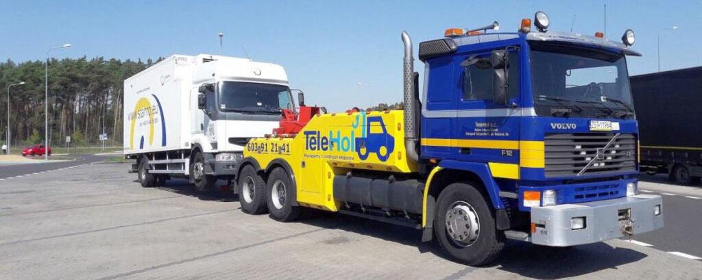 Pomoc drogowa i holowanie aut ciężarowych